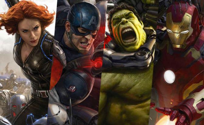 Avengers: Age of Ultron Primer Trailer Oficial HD, velo aqui.
