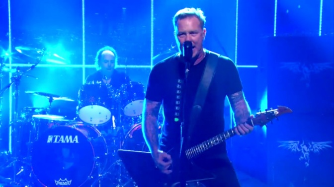 Metallica – Late Show With Craig Ferguson (2014)HDTV,1080i