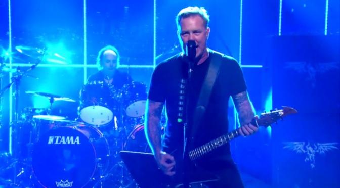 Metallica – Late Show With Craig Ferguson (2014)HDTV,1080i