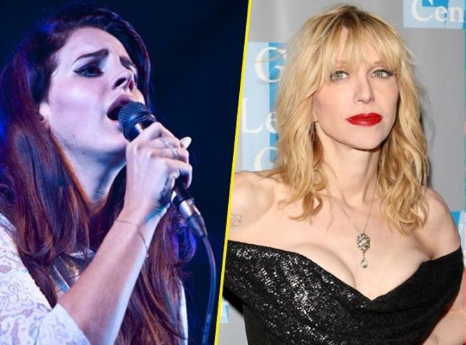 Lana Del Rey y Courtney Love anuncian gira juntas en 2015.