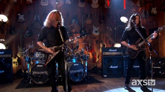 Megadeth – Guitar Center Sessions 2012 HD Descarga